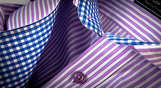 Tailored shirts custom made-to-measure